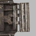 06. Detail zbraní zámku stav před restaurováním