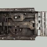 08. Celkový pohled zámkového mechanizmu stav před restaurováním