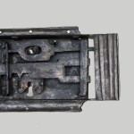 37 Celkový pohled zámkového machanizmu  stav po restaurování